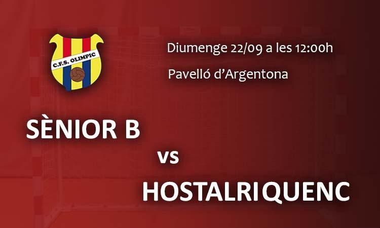 Debut Sènior B (Primera catalana)